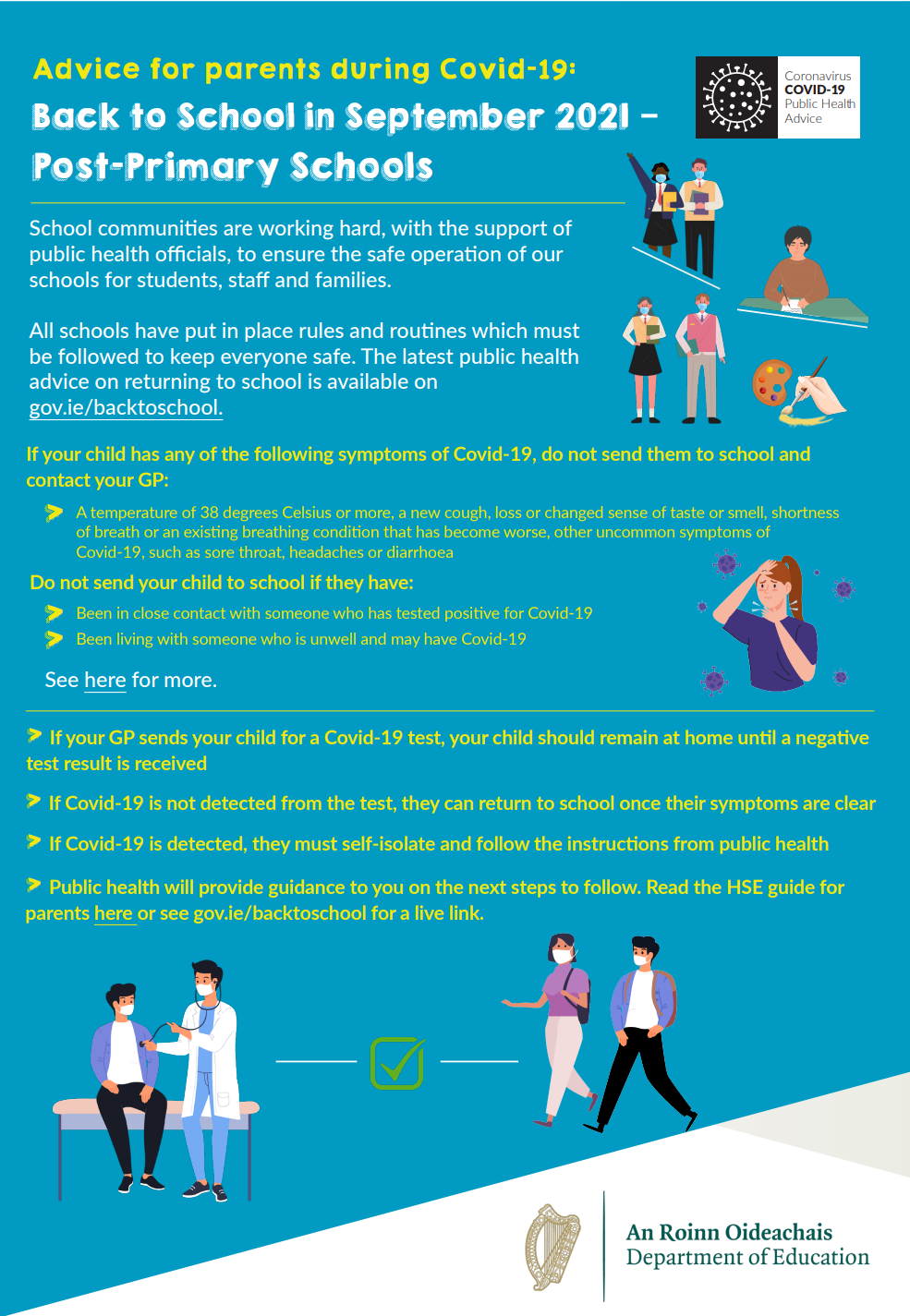 Back to School Advice for Parents During Covid 19